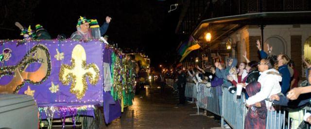Natchitoches Mardi Gras: Throw me something Mister!