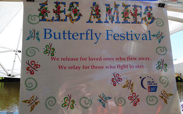 Les Amies Butterfly Release