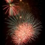 Fireworks over Cane River Lake at 9 p.m.