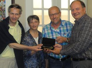 Natchitoches Mayor Welcomes Special French Visitors