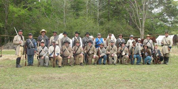 The Battle of Natchitoches Civil War Reenactment