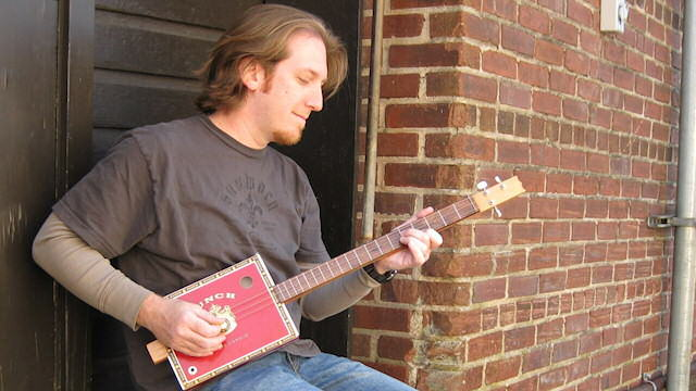 Natchitoches native Mike Snowden will present a cigar box guitar workshop at Junior Ranger Day