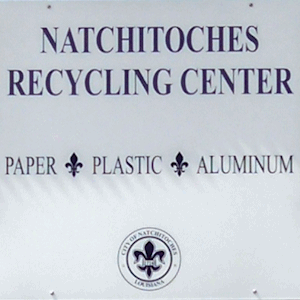 New Natchitoches Recycling Center Open On Mill Street