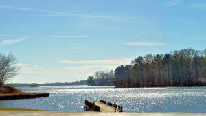 Sibley Lake in Natchitoches Louisiana