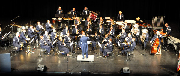 US Airforce Band of the West to perform in Natchitoches April 15th